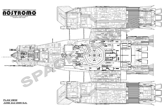nostromo top view 1