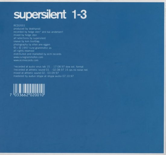 Supersilent – 1-3