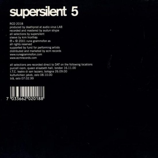 Supersilent – 5