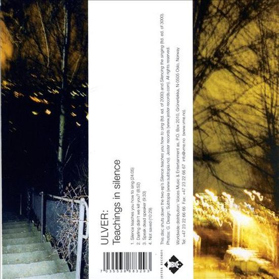 Ulver – Teachings In Silence