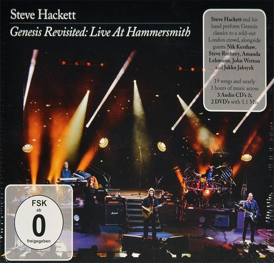 Steve Hackett – Genesis Revisited Live At Hammersmith