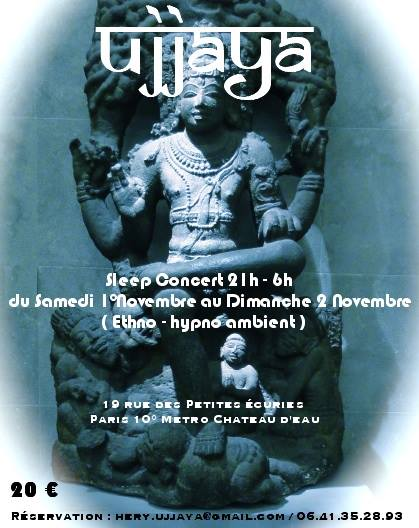Ujjaya Sleep Concert