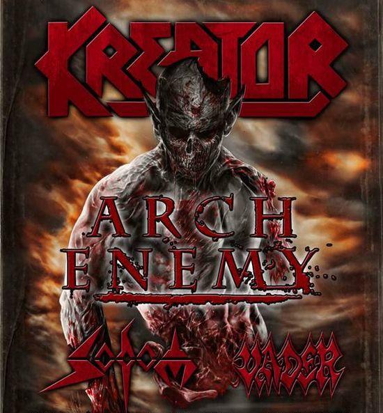 Kreator Arch Enermy Tour