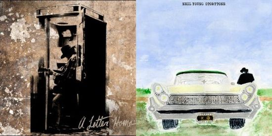 Neil Young albums 2014