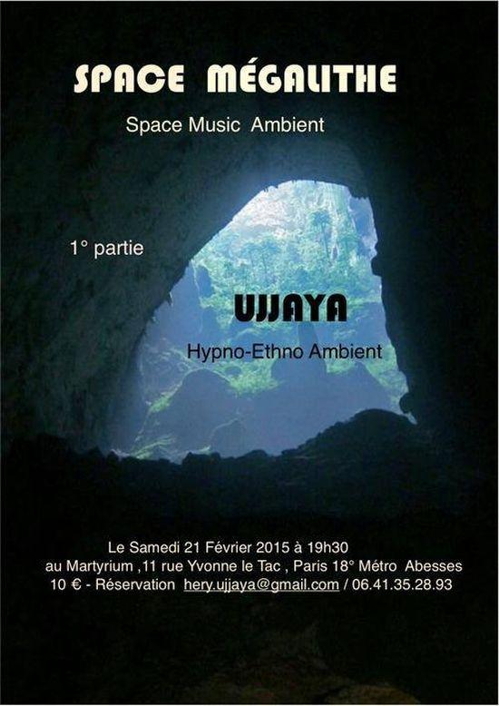 Space Megalithe Ujjaya live