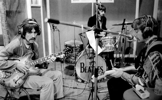 Beatles in studio