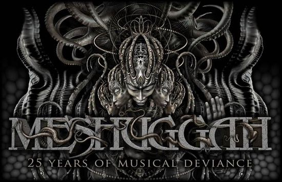 Meshuggah 25 Years Of Musical Deviance