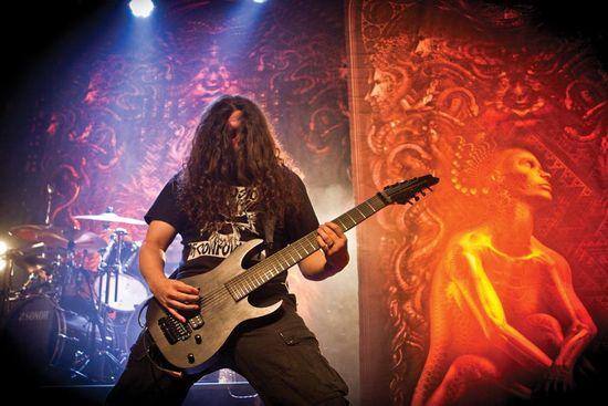 Meshuggah live