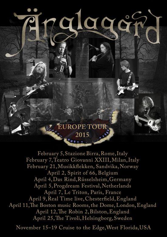 Anglagard Tour 2015