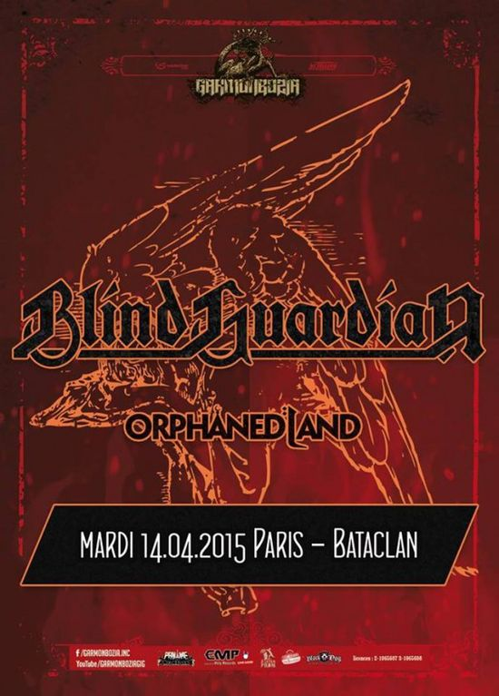Blind Guardian Bataclan
