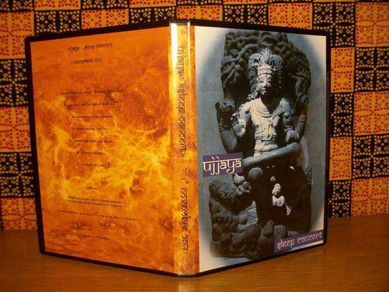 """DVD du """"Sleep Concert"""" d'Ujjaya, réalisé par Robert Kopec"""