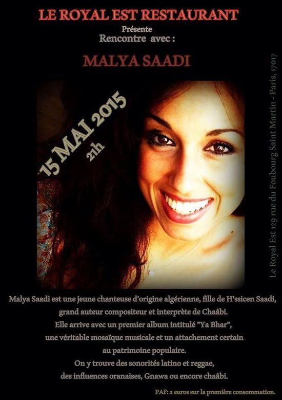 Malya Saabi Affiche