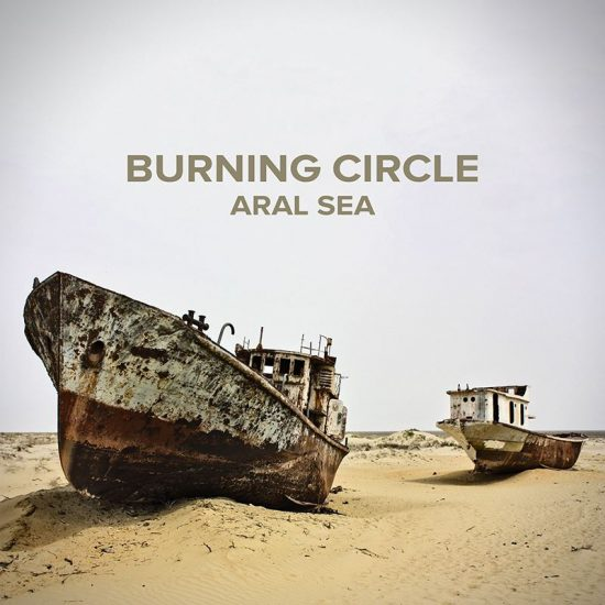 Burning Circle Aral sea