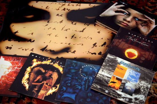 Marillion albums