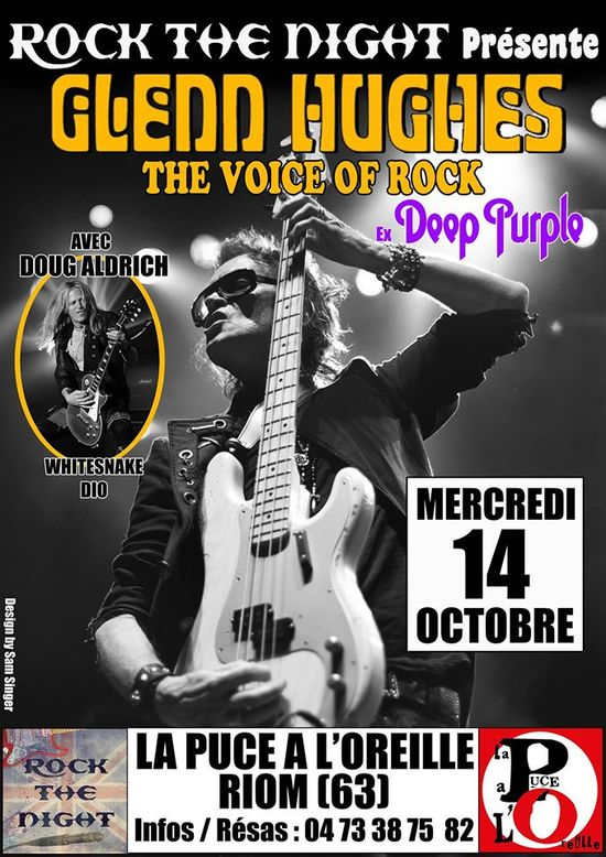 Glenn Hughes Tour