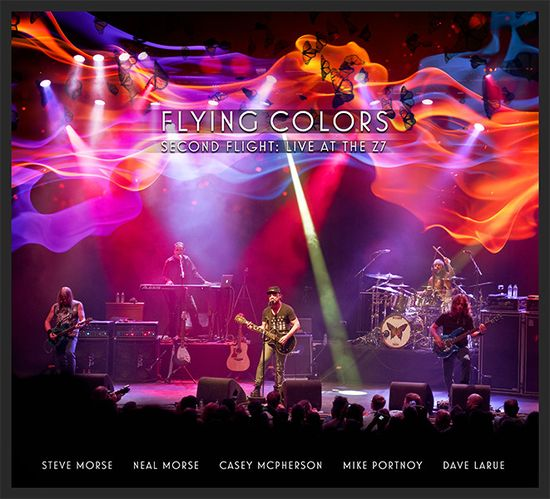 Flying Colors Second Flight Live At The Z7