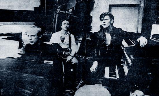 Eno Fripp Bowie