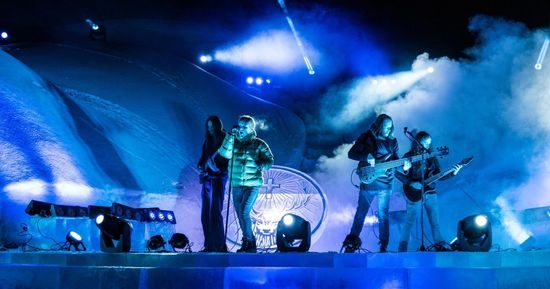 Tesseract live en Arctique