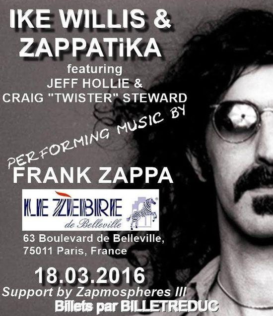 Zappatika affiche concert