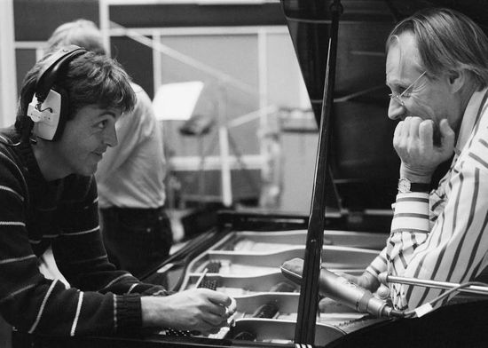 George Martin Paul Mc Cartney