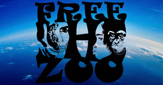 Free Human Zoo Freedom Now Band1