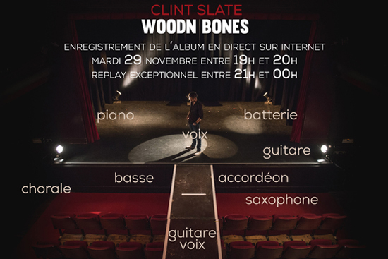 Clint Slate Woodn Bones Band1