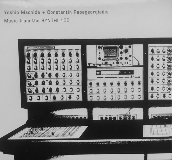 Constantin Papageorgiadis Yoshio Machida Music From The Synthi 100