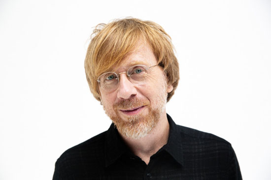 Trey Anastasio Paper Wheels Band