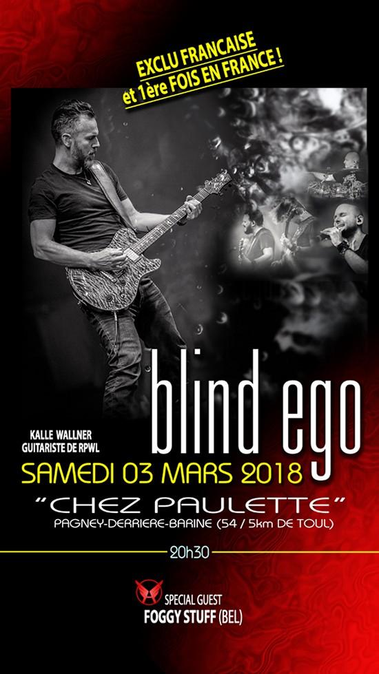 Blind Ego Chez Paulette