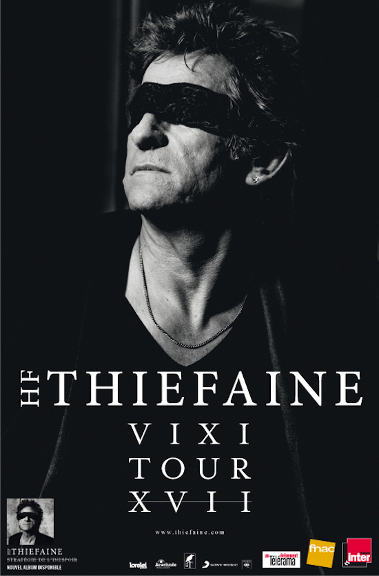 Thiéfaine Vixi Tour XVII band1