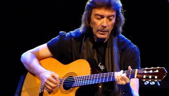Steve Hackett live Radiant Caluire band 1