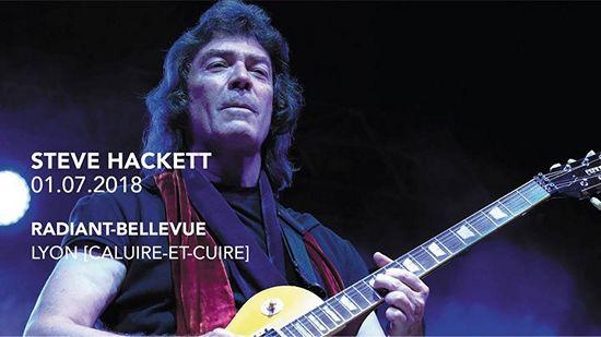Steve Hackett live Radiant Caluire
