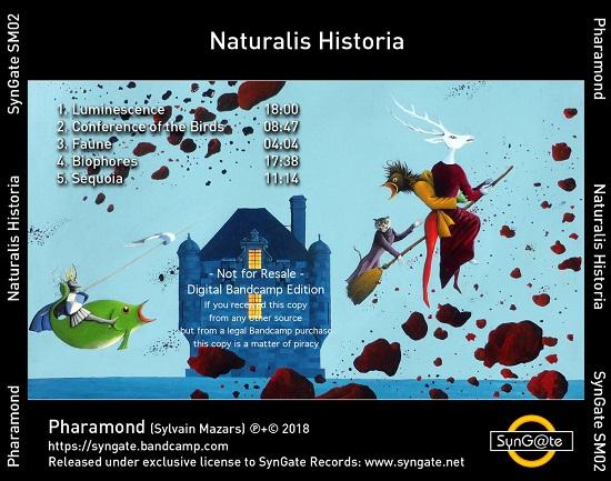 Pharamond Orbis Tertius + Naturalis Historia band 2