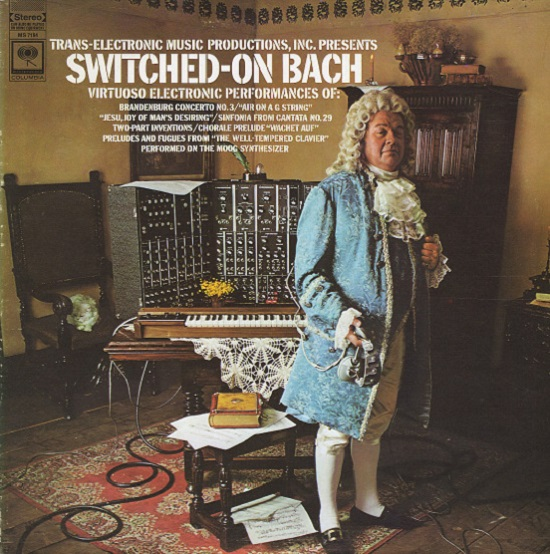 Walter Carlos Switched-On Bach