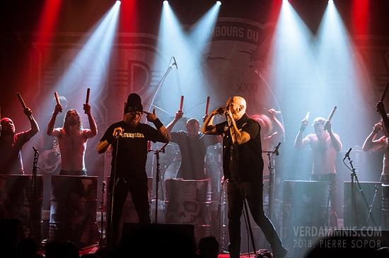 Les Tambours du Bronx W.O.M.P. band 2
