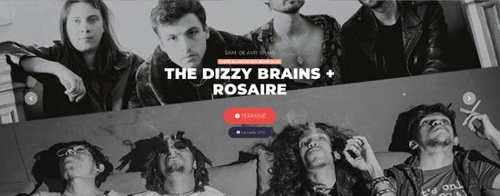 The Dizzy Brains au Temps Machine