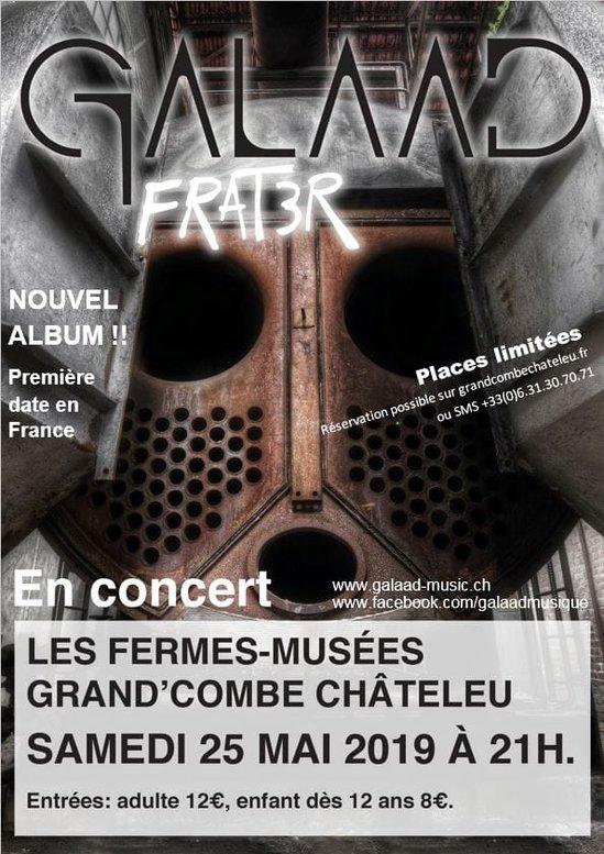 live report Galaad Grand Combe Châteleu