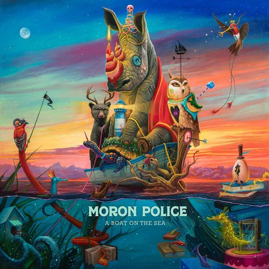 Moron Police – A Boat On The Sea