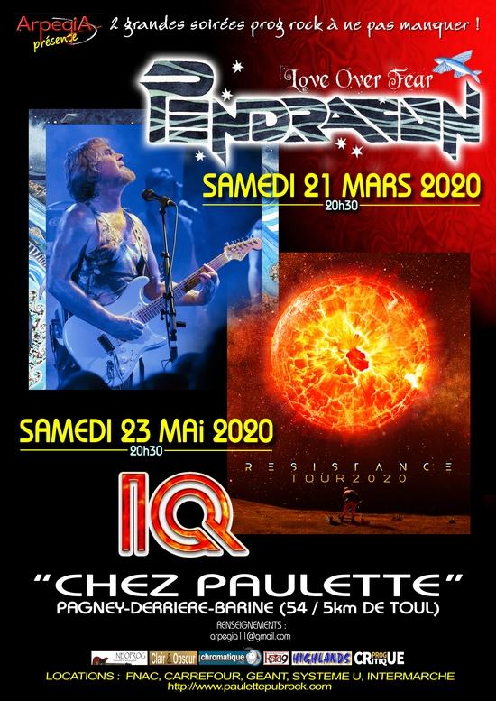 PENDRAGON-IQ Chez Paulette en 2020 Arpegia