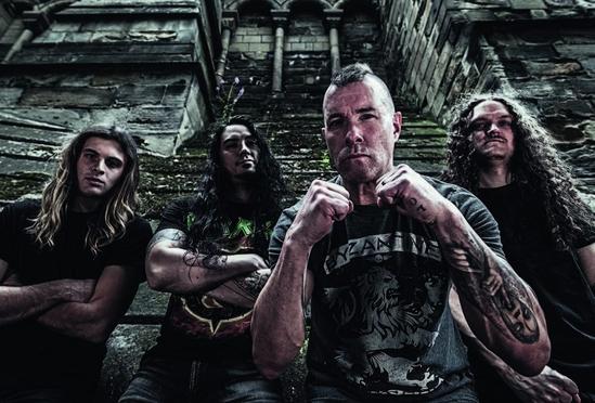 Annihilator - Ballistic, Sadistic band 1