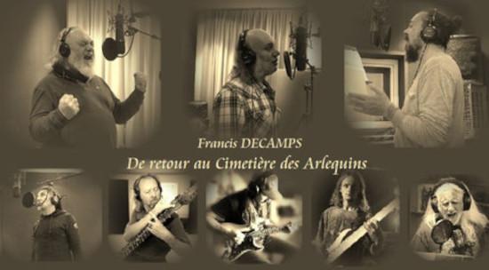 Francis Décamps De Retour au cimetière des arlequins band 2