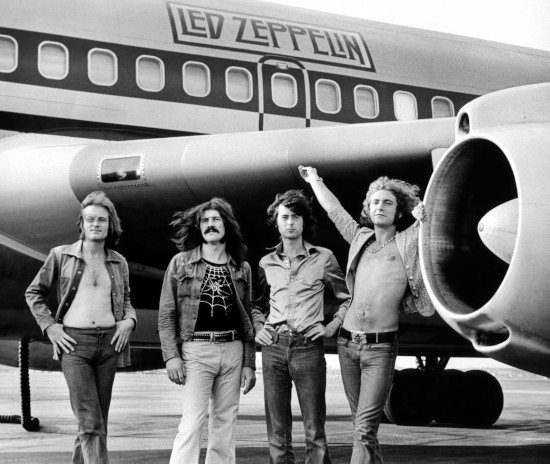 Led Zeppelin In Through The Out Door band1