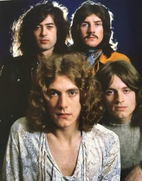 Led Zeppelin In Through The Out Door band2