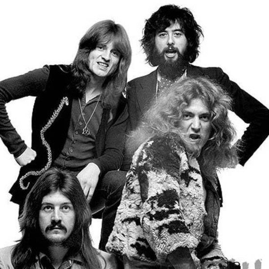 Led Zeppelin In Through The Out Door band3