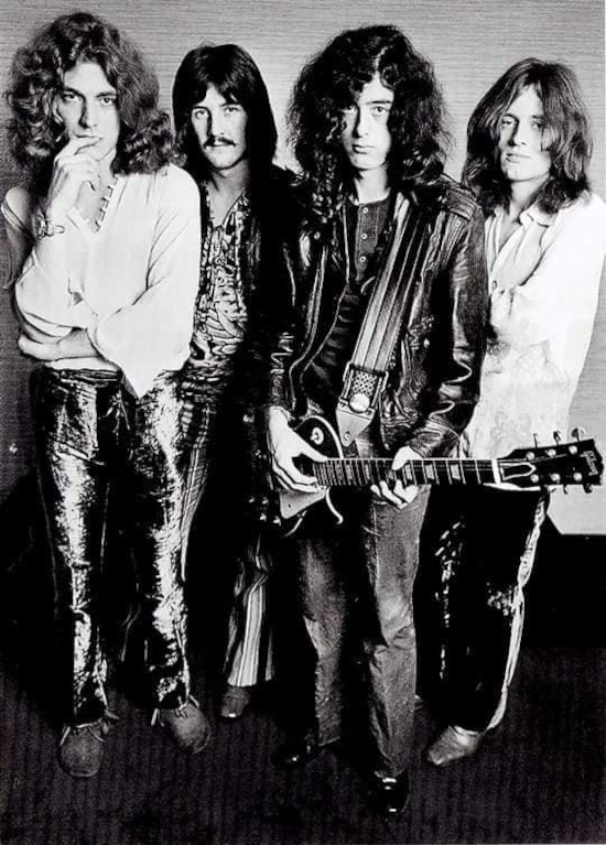 Led Zeppelin In Through The Out Door band4